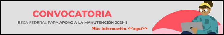 Beca manutención 2021
